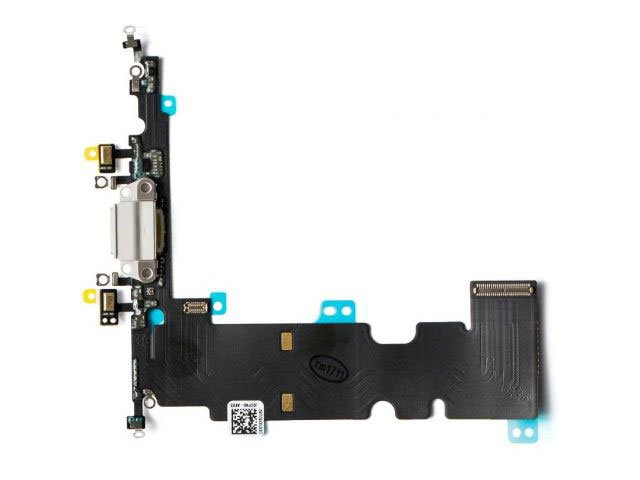 Banda cu conector alimentare Apple iPhone 8 Plus alb ORIGINALA