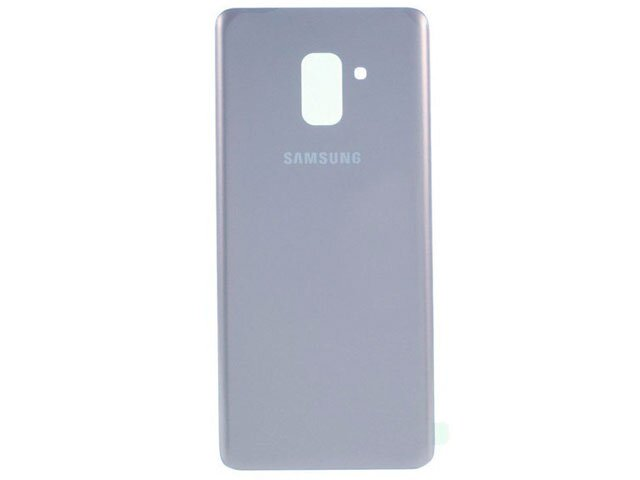 capac baterie samsung sm-a530f galaxy a8 2018 violet original din sticla