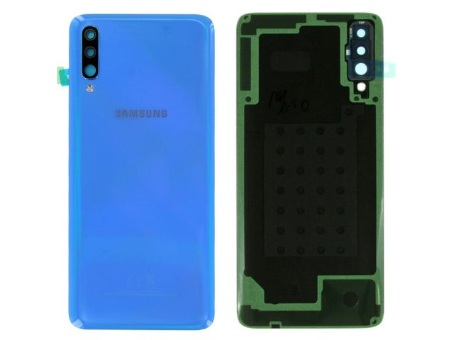 Capac baterie Samsung SM-A705F Galaxy A70 albastru ORIGINAL