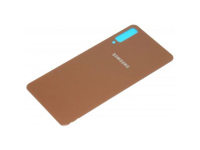 Capac baterie Samsung SM-A750F Galaxy A7 2018 auriu ORIGINAL