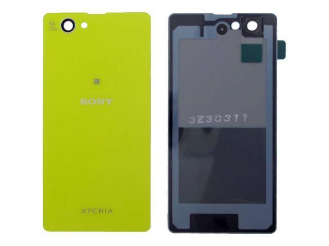 Capac baterie Sony D5503, Xperia Z1 Compact galben original