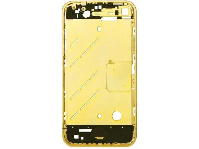 carcasa mijloc apple iphone 4s aurie originala