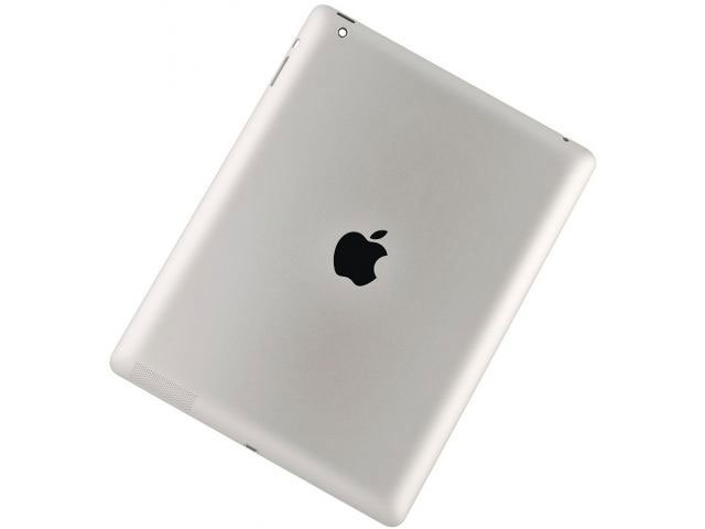 carcasa spate apple ipad 4 wi-fi alba originala