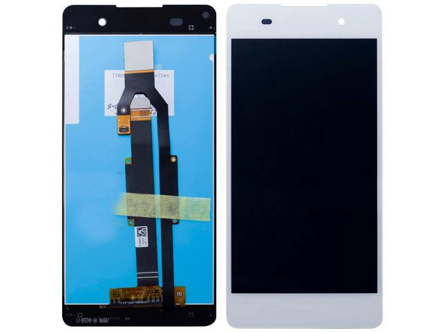 Display cu touchscreen Sony F3311, F3313, Xperia E5 alb original