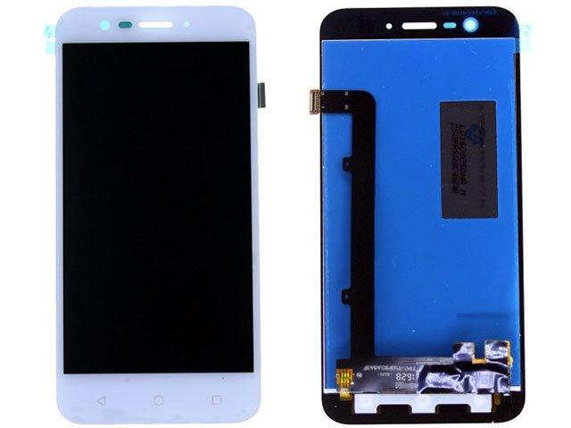 Display cu touchscreen Alcatel Vodafone Smart Prime 7, Vodafone 600, VFD600 alb original