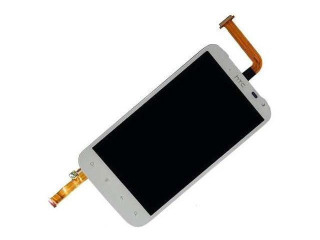 Display cu touchscreen HTC Sensation XL, Runnymede, G21, X315e alb original