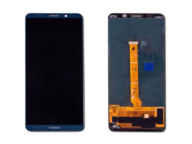 display cu touchscreen huawei mate 10 pro bla-l09 bla-l29 albastru original