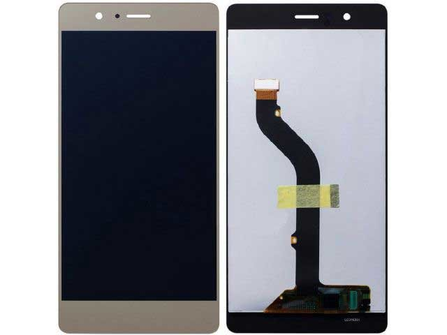 Display cu touchscreen Huawei P9 auriu original