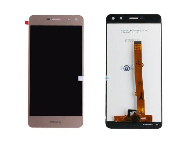 Display cu touchscreen Huawei Y6 2017, MYA-L02, MYA-L03, MYA-L22, MYA-L23 auriu original