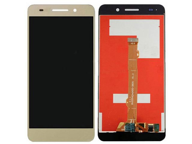 Display cu touchscreen Huawei Y6II Compact, Honor 5A, LYO-L01 auriu original