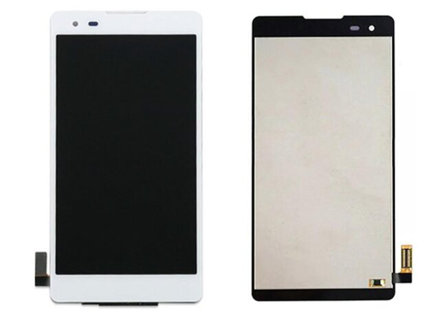 Display cu touchscreen LG X Style, K200, K200DS alb ORIGINAL