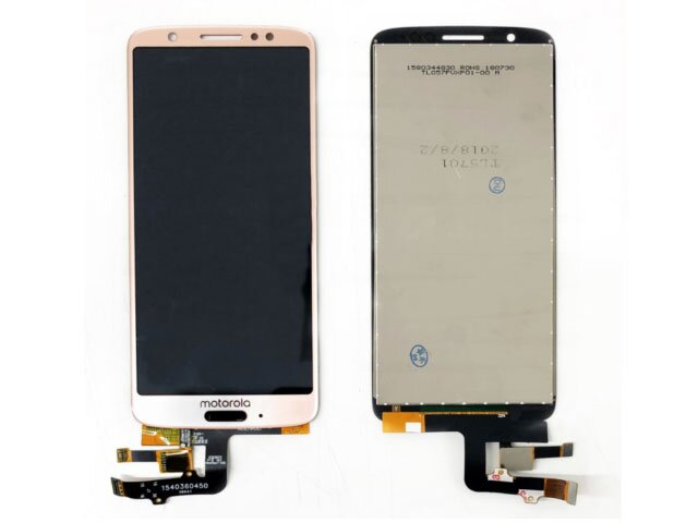 Display cu touchscreen Motorola Moto G6 roz ORIGINAL
