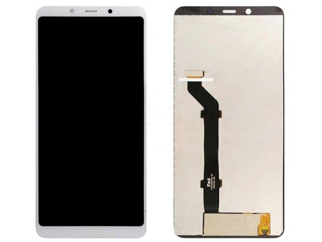 Display cu touchscreen Nokia 3.1 Plus, TA-1104, TA-1115, TA-1118, TA-1125 alb ORIGINAL