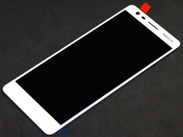 Display cu touchscreen Nokia 3.1, TA-1049, TA-1057, TA-1063, TA-1070, TA-1074 alb original