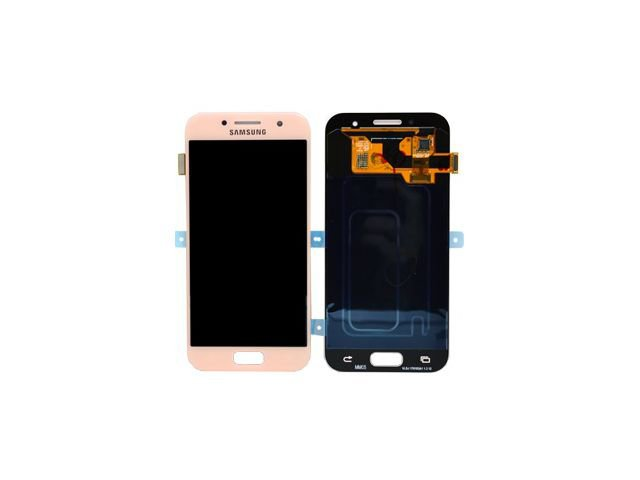 Display cu touchscreen Samsung SM-A320F Galaxy A3 2017 roz original