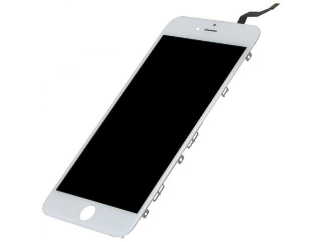 display cu touchscreen si rama apple iphone 6s plus alb