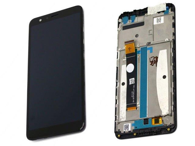 Display cu touchscreen si rama Asus Zenfone Max Plus (M1) ZB570TL ORIGINAL