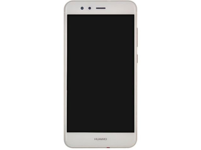 Display cu touchscreen si rama Huawei P10 Lite WAS-LX1, LX1A alb original
