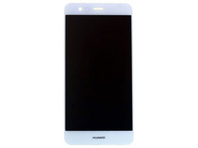 Display cu touchscreen si rama Huawei P10, VTR-L09, VTR-L29 alb original
