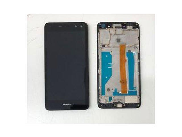 Display cu touchscreen si rama Huawei Y6 (2017), MYA-L02, MYA-L03, MYA-L22, MYA-L23 original