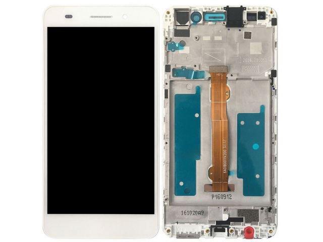 display cu touchscreen si rama huawei y6ii compact honor 5a lyo-l01 alb original