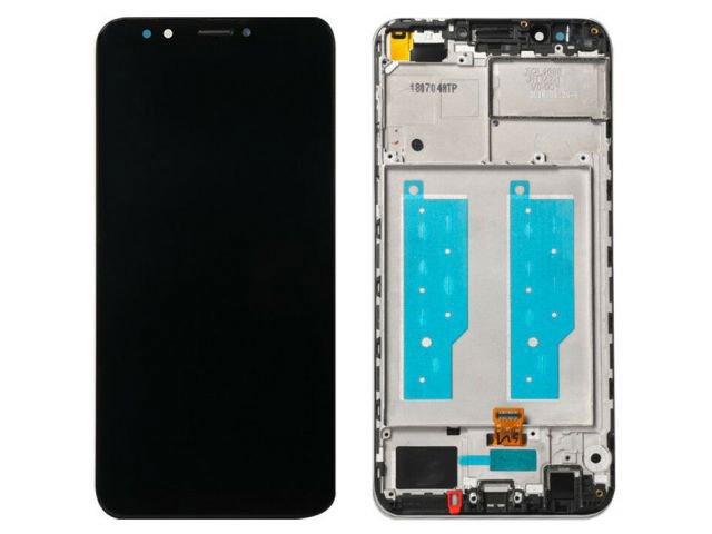 Display cu touchscreen si rama Huawei Y7 Prime 2018, LDN-LX1, LDN-LX2, LDN-L21, LDN-L22, Y7 Pro 2018 ORIGINAL
