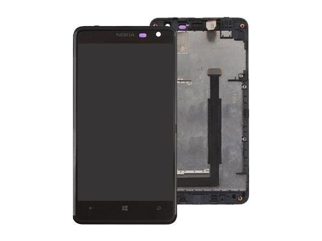 Display cu touchscreen si rama Nokia 625 Lumia original