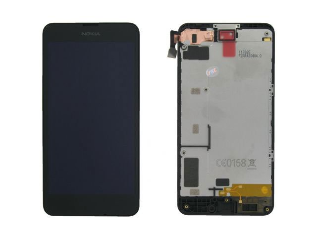 Display cu touchscreen si rama Nokia 630 Lumia, 635 Lumia original