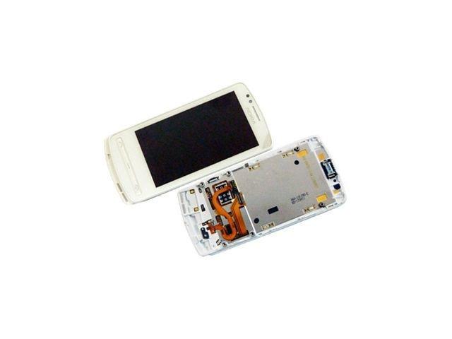 Display cu touchscreen si rama Nokia 700 alb original