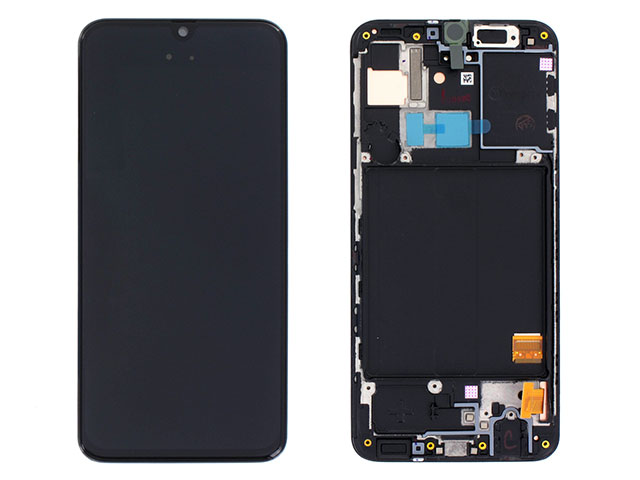 Display cu touchscreen si rama Samsung SM-A405F Galaxy A40 Original