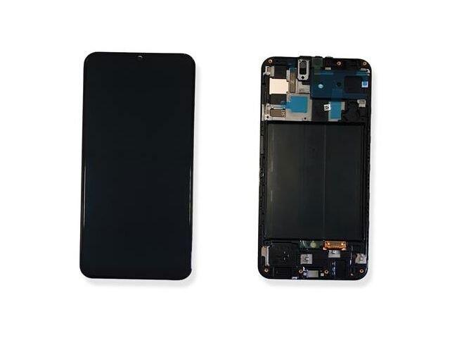 Display cu touchscreen si rama Samsung SM-A505F Galaxy A50 ORIGINAL