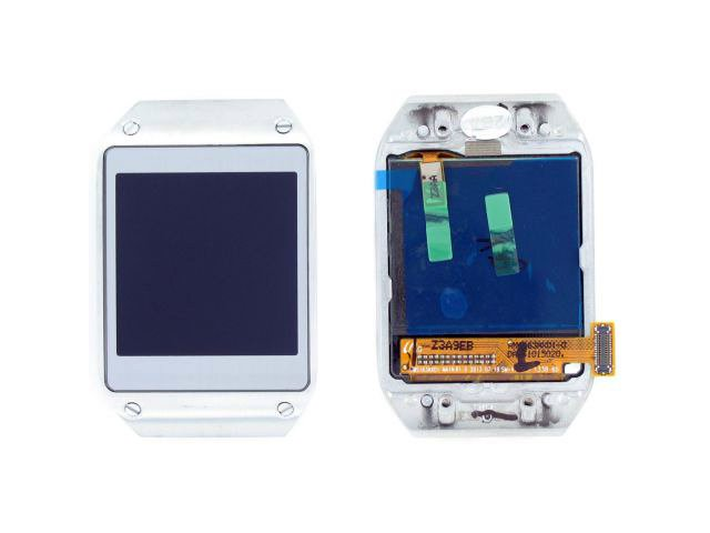 display cu touchscreen si rama samsung sm-v700 galaxy gear argintiu original