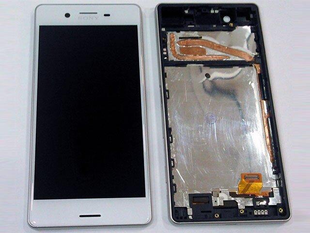 display cu touchscreen si rama sony f5121 xperia x f5122 xperia x dual alb original