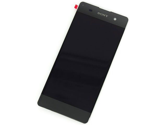 Display cu touchscreen si rama Sony Xperia XA, XA Dual, F3111, F3113, F3115 gri original