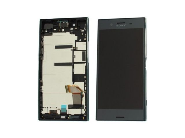 Display cu touchscreen si rama Sony Xperia XZ Premium, G8141, G8142 original