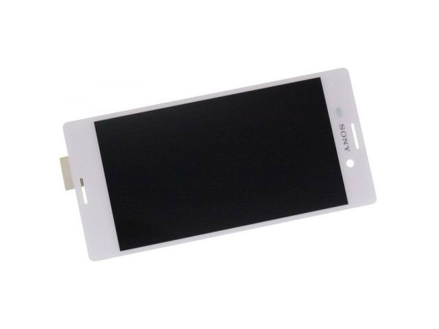 Display cu touchscreen Sony E2303, E2306, E2312, E233, E2353, E2363 Xperia M4 Aqua alb original