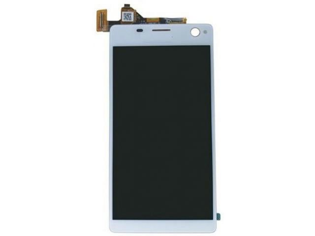 Display cu touchscreen Sony E5333, E5343, E5363, Xperia C4 Dual alb original