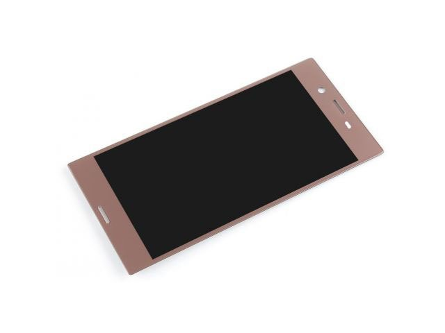 Display cu touchscreen Sony F8331, F8332, Xperia XZ rose - gold original