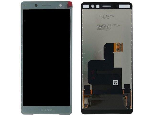 Display cu touchscreen Sony H8314, Xperia XZ2 Compact verde original