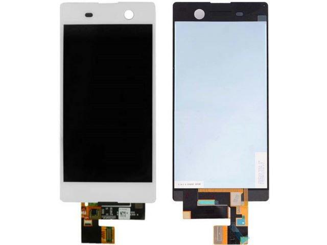 display cu touchscreen sony xperia m5 e5603 e5606 e5653 e5633 e5643 e5663 xperia m5 dual alb original