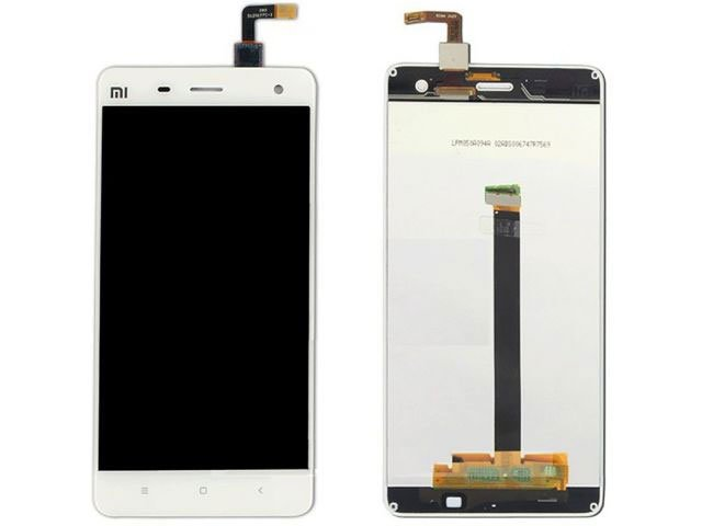 Display cu touchscreen Xiaomi Mi 4 alb original