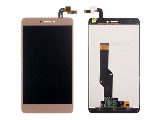 Display cu touchscreen Xiaomi Redmi Note 4X auriu original