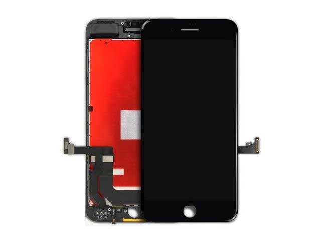 display set complet iphone 7 plus negru alb