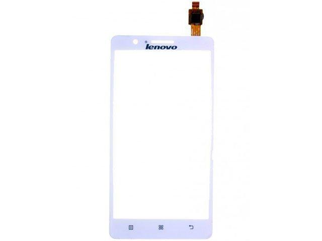 Geam cu touchscreen Lenovo A536 alb ORIGINAL