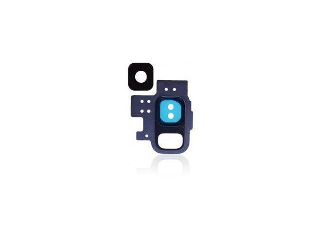 Kit inlocuire geam camera Samsung SM-G960F Galaxy S9 albastru original
