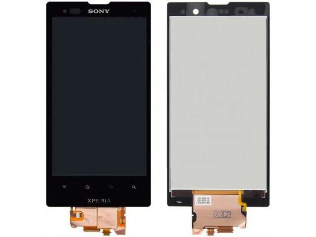 Display cu touchscreen Sony LT28i Xperia ion LTE original