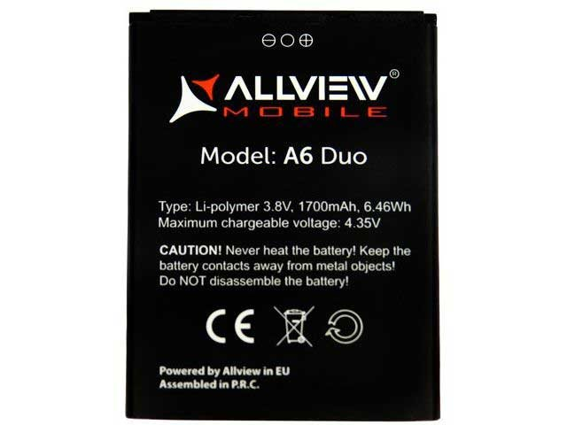 acumulator allview a6 duo c6 duo original