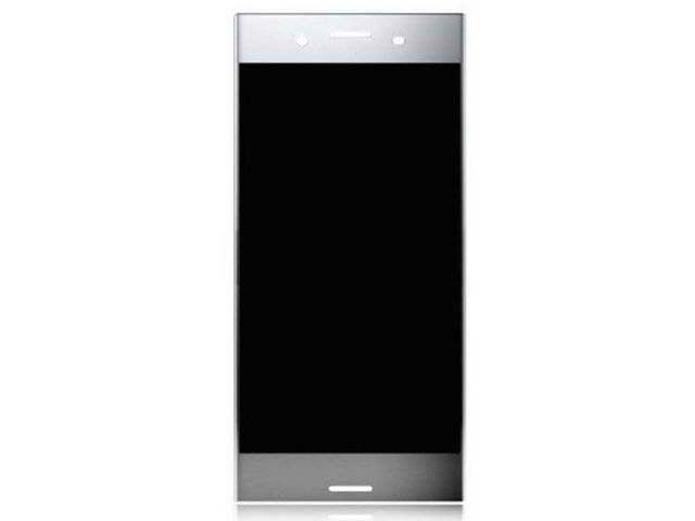 Display cu touchscreen Sony Xperia XZ Premium, G8141, G8142 original argintiu