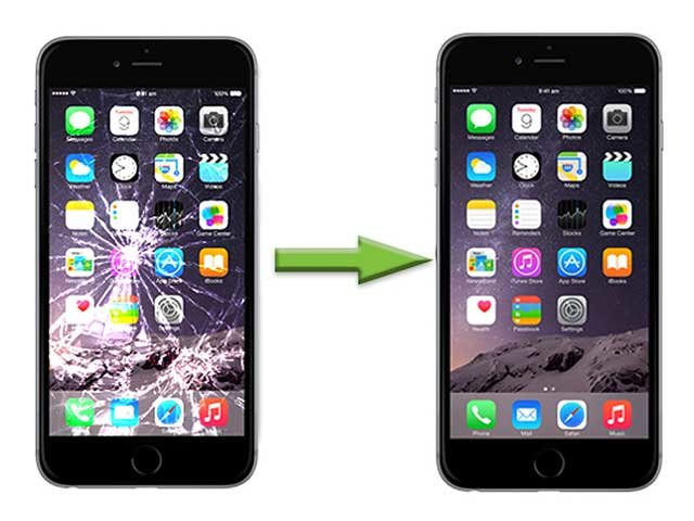 inlocuire schimbare geam sticla iphone 6s