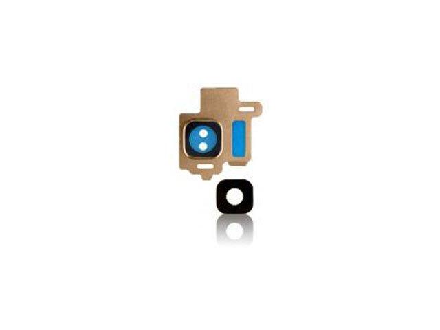 Set geam camera Samsung SM-G950F Galaxy S8 auriu original